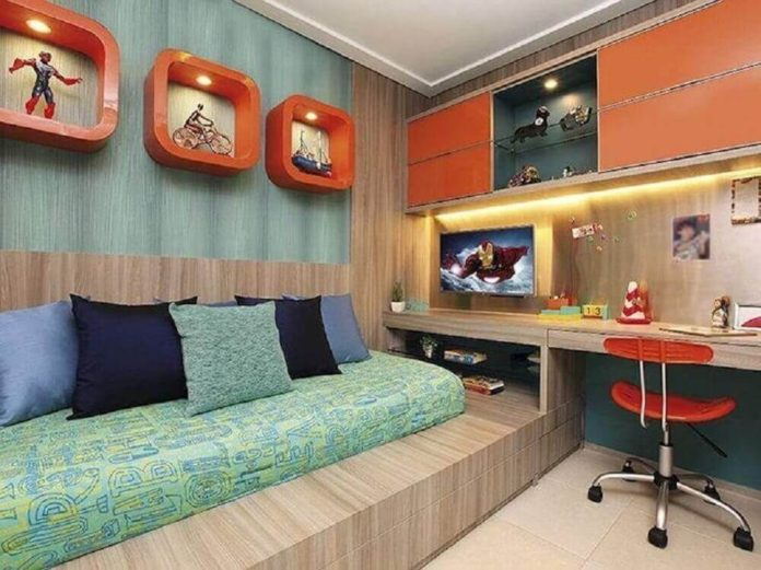 Nichos para quarto com decoração temática