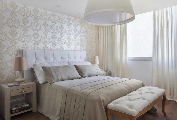 papel de parede para um quarto clean