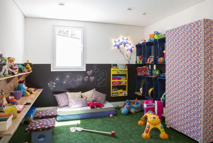 decoração com tema para as crianças trabalharem a imaginação