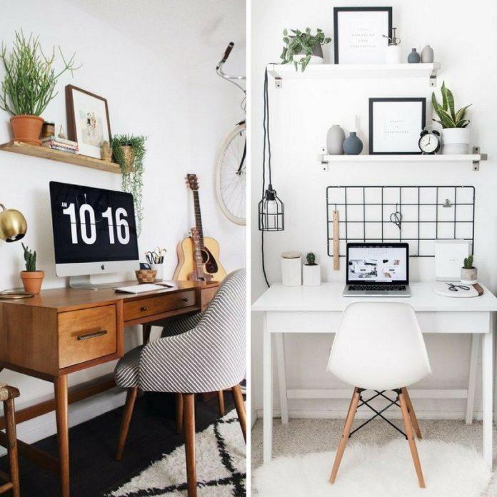 reaproveitando moveis para o escritorio