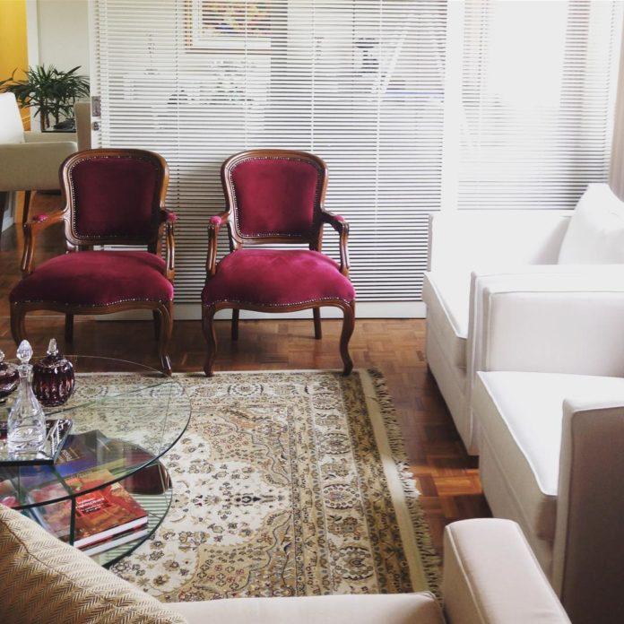poltronas vintages para a sala