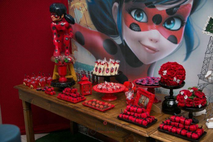 decoração ladybug