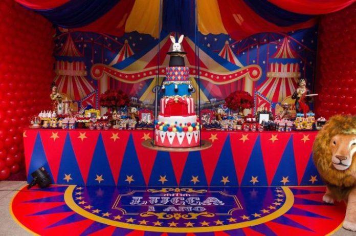 Tema de circo para aniversário