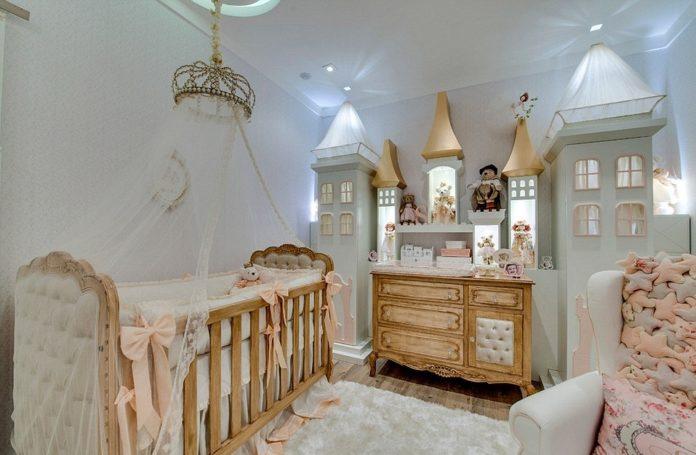 Decoração de quarto de fantasias
