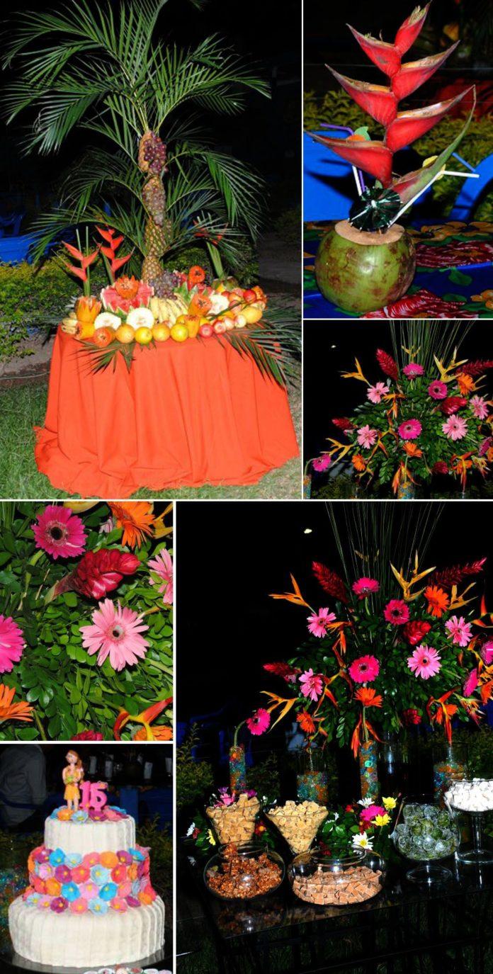 Decorações com flores
