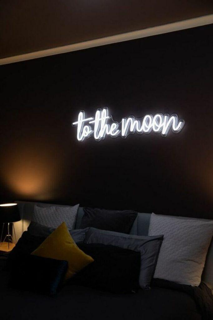 Neon para o quarto