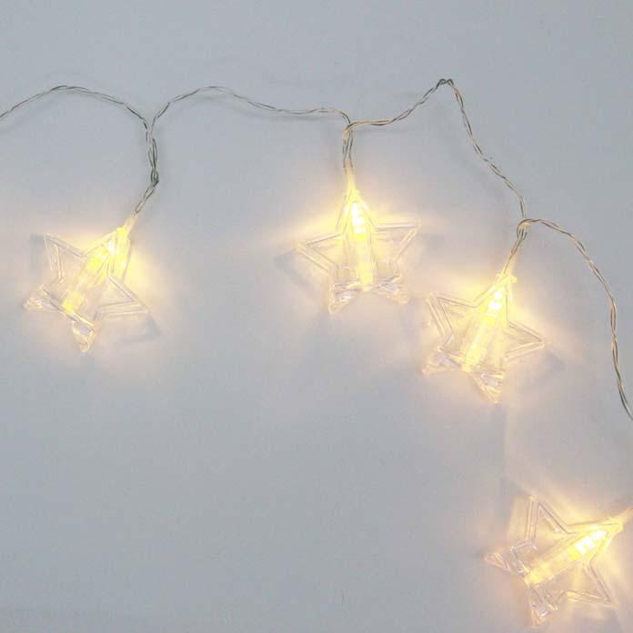 Fio de luz de estrela para decoração