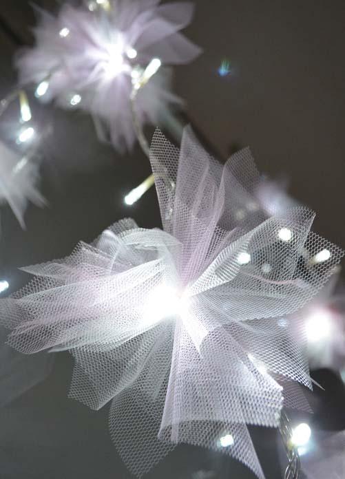fios de luz decorativos