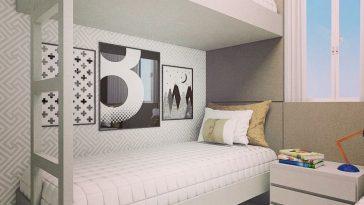 decoração para quarto de hospede