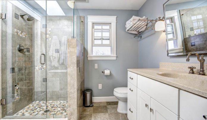 banheiro decorado lindo