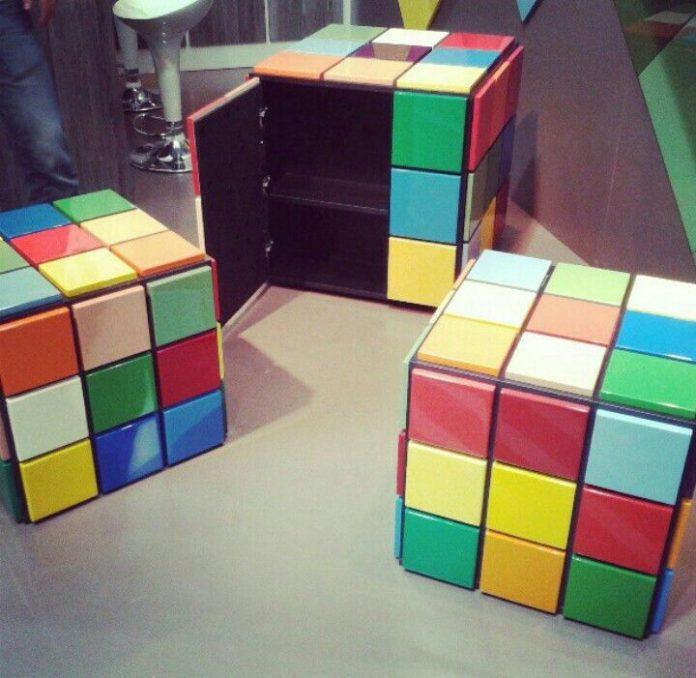 mesa de cubo