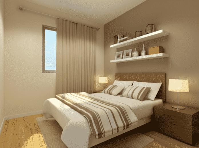 objetos decorativos para cama