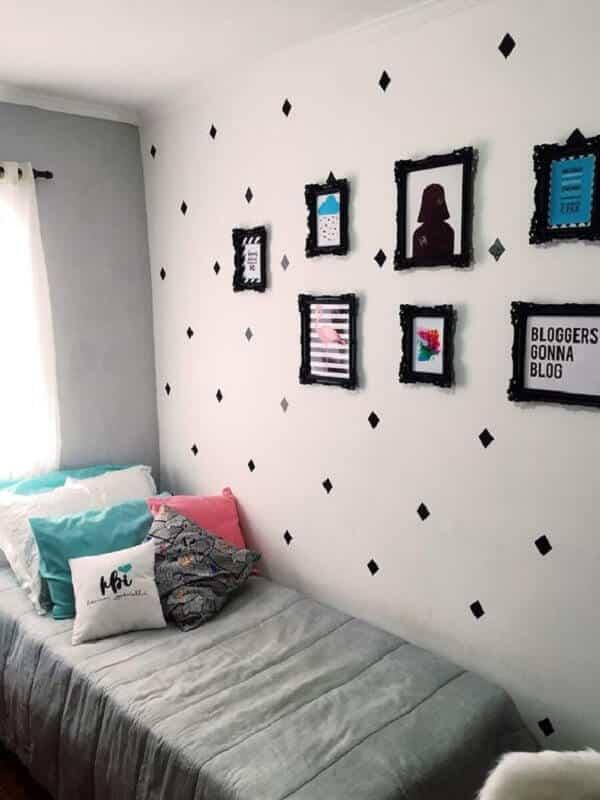 quadros decorativos para quarto pequeno