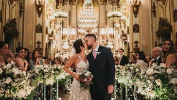 decoração de casamento na igreja