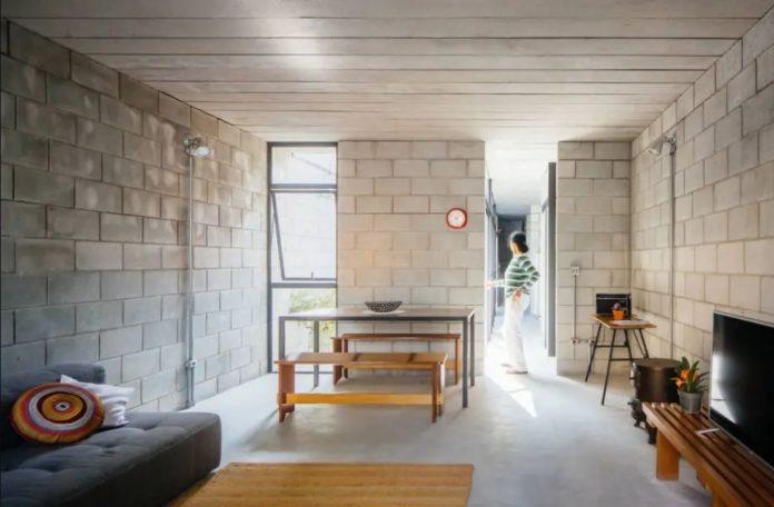 interior da casa premiada