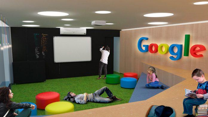 a importancia de descontrair no ambiente de trabalho da google