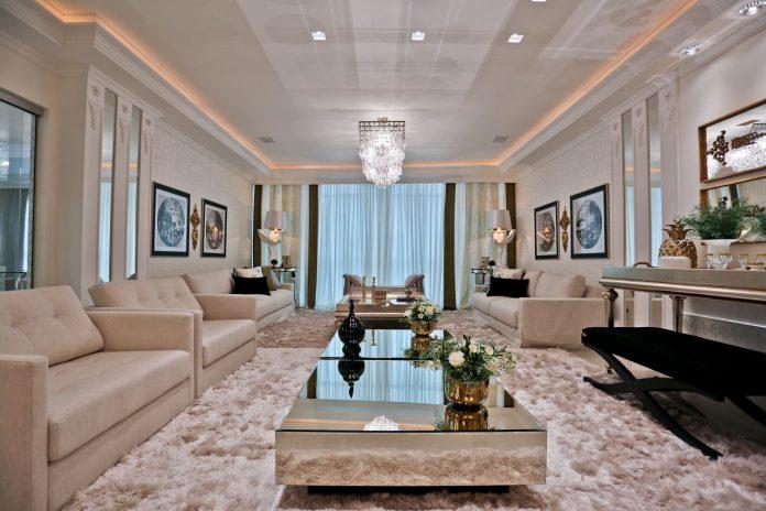 tapete para compor a decoração de interiores