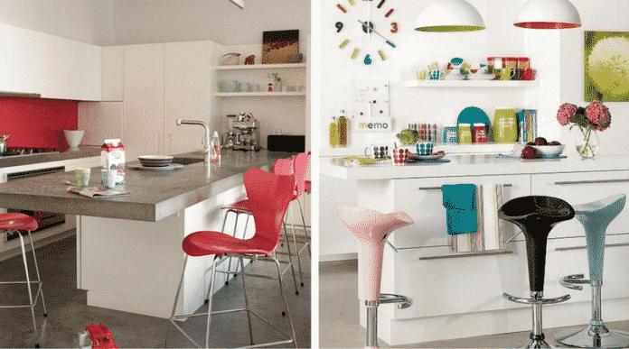Objetos coloridos para mudar toda a decoração