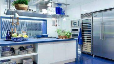 4 maneiras para você trazer toques coloridos para a cozinha sem ter que pegar um pincel