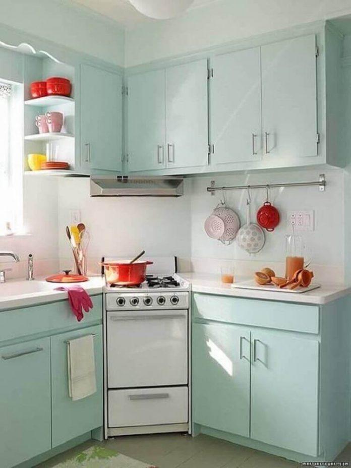 Cozinha retrô : Saiba como fazer sem gastar muito
