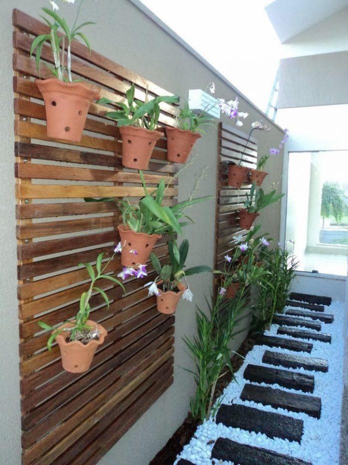 jardim vertical para corredor
