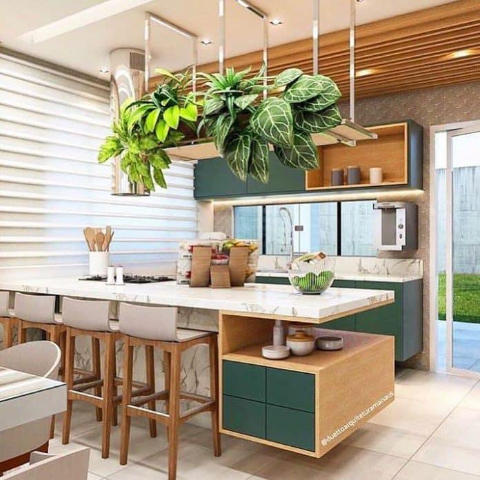 Planta para cozinha
