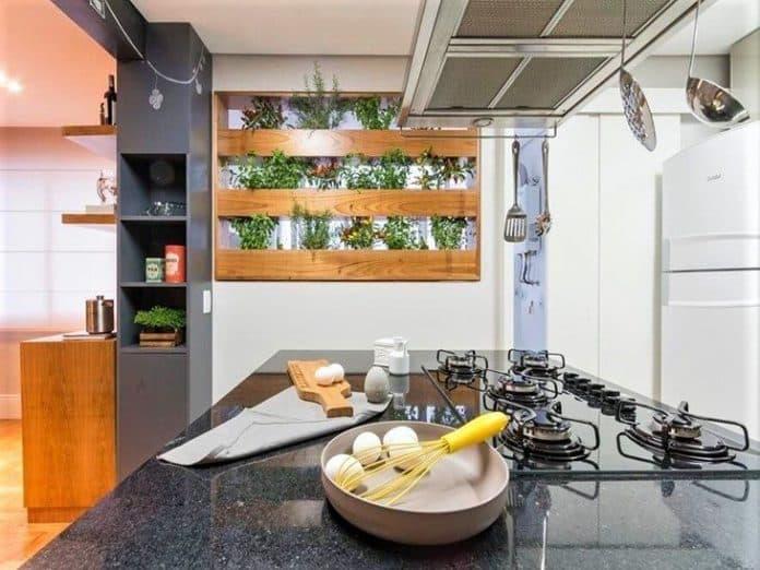 horta para sua cozinha