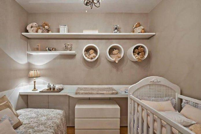 nichos para o quarto de bebe