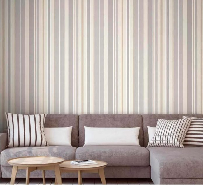 papel de parede para a decoração de interiores