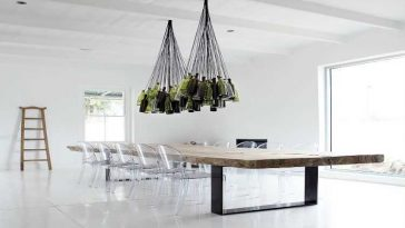 DIY: Como fazer lustres para sala de jantar