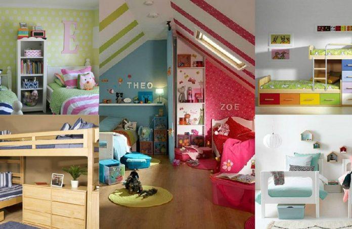 exemplos de quartos para gêmeos