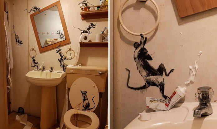 Arte no banheiro: um toque com arte faz toda a diferença