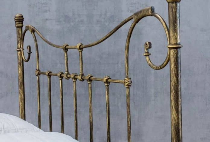 cabeceira de ferro para cama