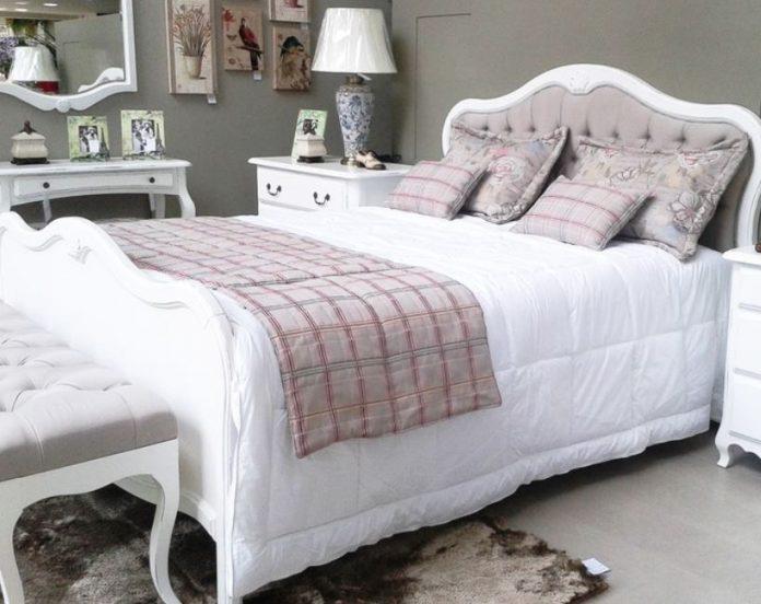 exemplo de cama provençal