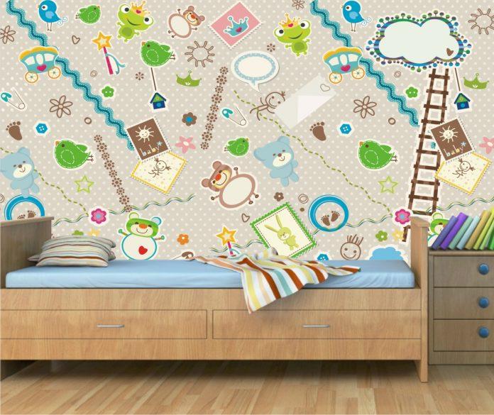 papel de parede para o quarto, evite quebradeira e poeira