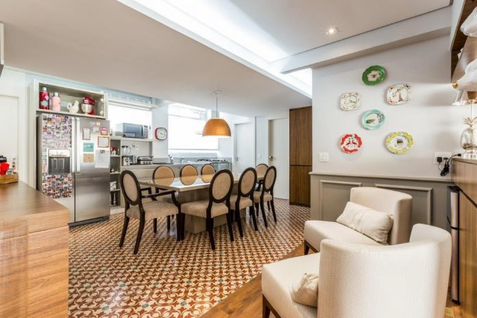 tipos de revestimentos para a cozinha integrada com a sala