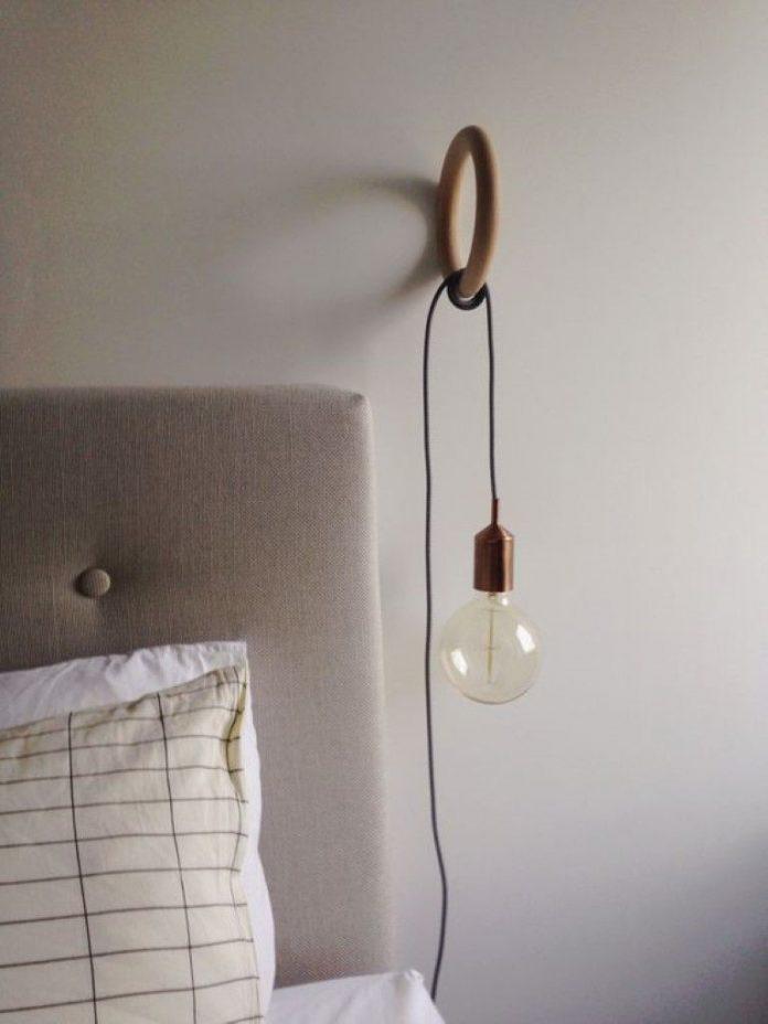 Luminária de fio
