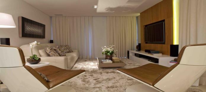 tapete grande para compor a decoração da sala