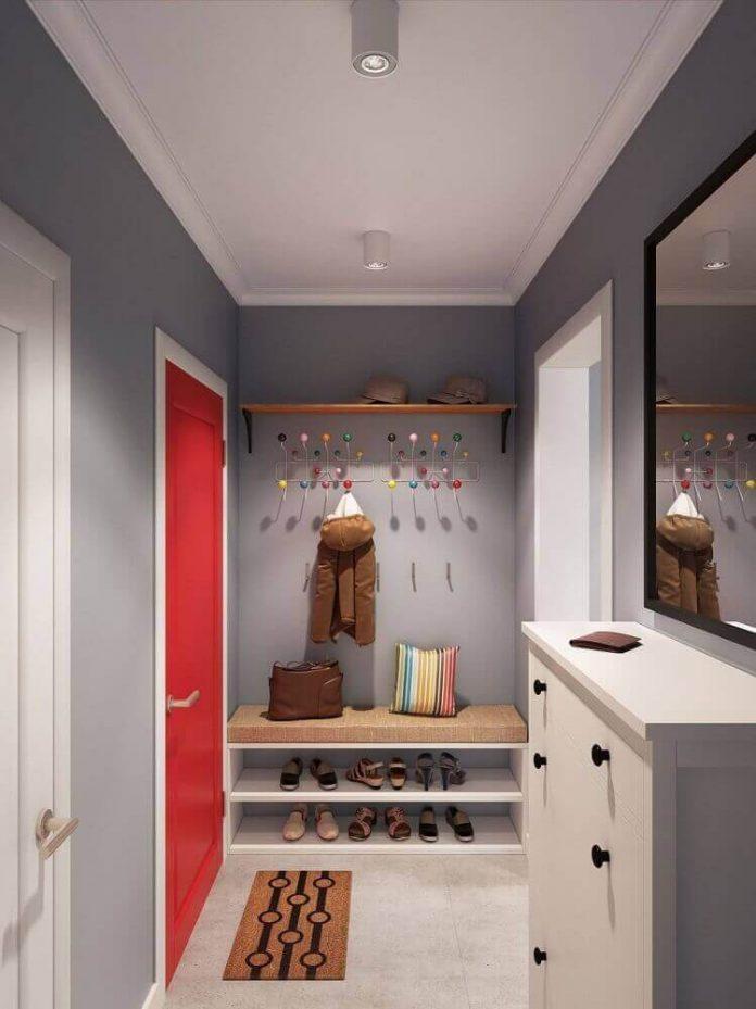 Aproveitamento do espaço vertical do seu hall de entrada