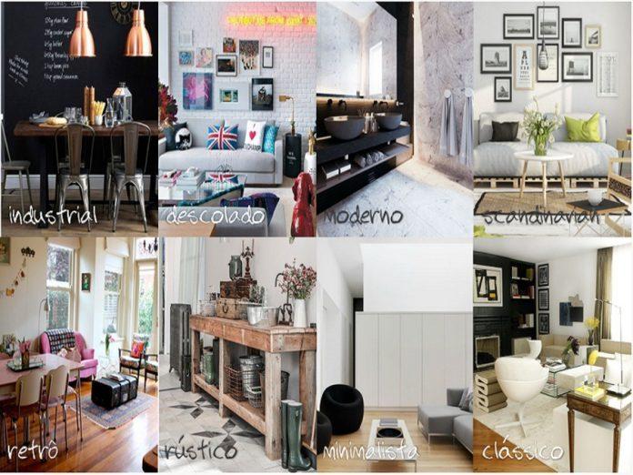 7 estilos de decorações para sua casa