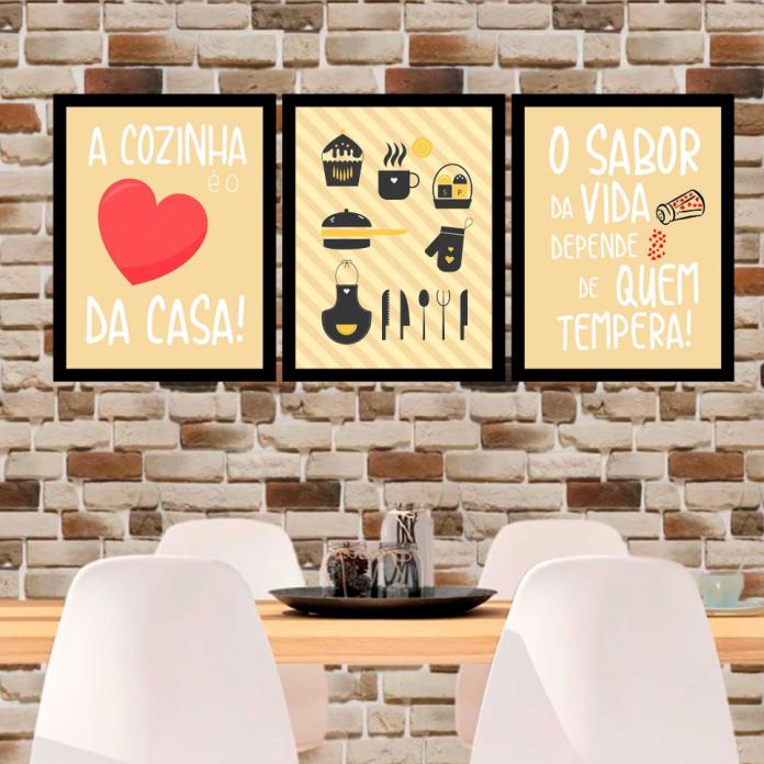 quadros na cozinha com frases