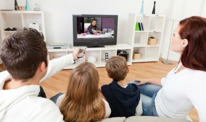 distância ideal para uma sala do sofá até a tv