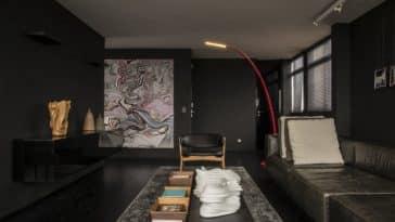 Dicas para utilizar móveis com cor preto na sua sala