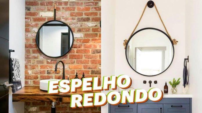4 maneiras de utilizar espelho redondo na decoração
