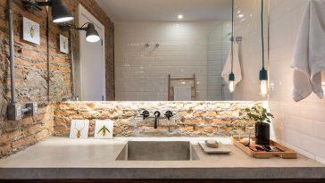 Revestimento de tijolinho para o banheiro: Ideias para sua decoração
