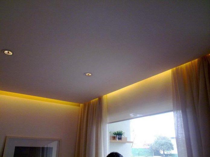 sanca invertida tradicional ideal para quem deseja valorizar os cantos do quarto