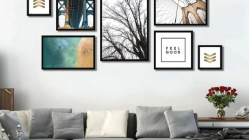 Como Usar Quadros Decorativos na Decoração de Sua sala