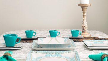 Dicas para Decorar sua Mesa com o Aparelho de Jantar Quadrado