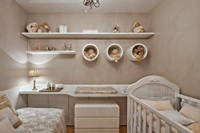 Prateleiras para quarto de bebê: Fotos e modelos para você se inspirar