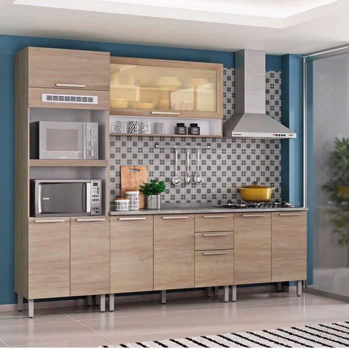 exemplo de cozinha modulada simples